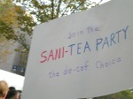 Join the sani-tea party: the de-caf of choice